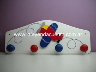 Accesorios decorativos for Perchero pared infantil